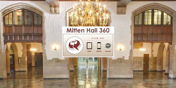 Mitten hall great court
